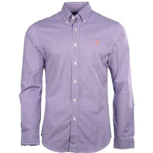 RALPH LAUREN | Purple Gingham Checkered Shirt